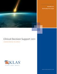 Clinical Decision Support 2011