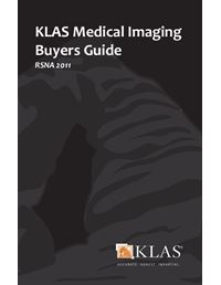 KLAS Medical Imaging Buyers Guide 2011