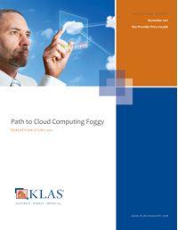 Path to Cloud Computing Foggy