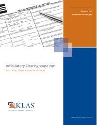Ambulatory Clearinghouse 2011