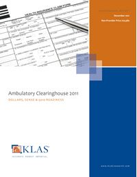 Ambulatory Clearinghouse 2011