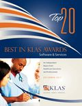2011 Best in KLAS Awards -  Software and Professional Services