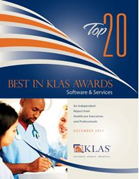 2011 Best in KLAS Awards