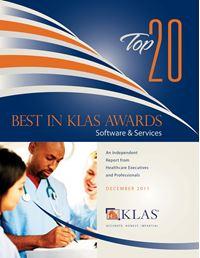 2011 Best in KLAS Awards