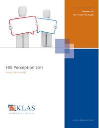 HIE Perception 2011