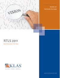 Real-Time Location Systems (RTLS) 2011