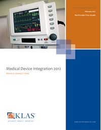 Medical Device Integration 2012