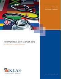 International EPR Market 2012