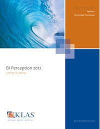 BI Perception 2012