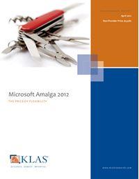 Microsoft Amalga 2012