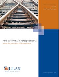 Ambulatory EMR Perception 2012