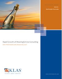 Rapid Growth of Meaningful Use Consulting