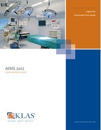 AIMS 2012