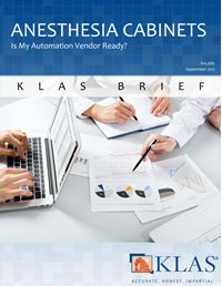 Anesthesia Cabinets