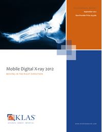 Mobile Digital X-ray 2012