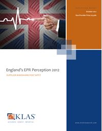 England's EPR Perception 2012