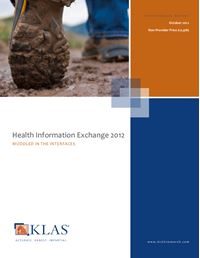Health Information Exchange 2012