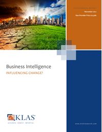 Business Intelligence 2012