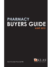 KLAS Pharmacy Buyers Guide 2012