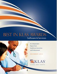 2012 Best in KLAS Awards