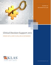 Clinical Decision Support 2012