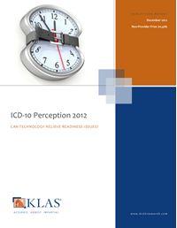 ICD-10 Perception
