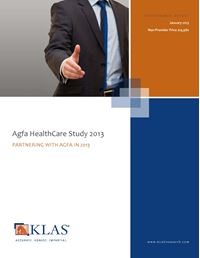 Agfa HealthCare 2013