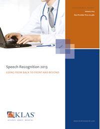 Speech Recognition 2013