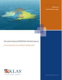 UK and Ireland EPR/PAS Performance 2013