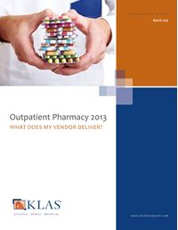 Outpatient Pharmacy 2013