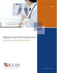 Digital X-Ray Performance 2013