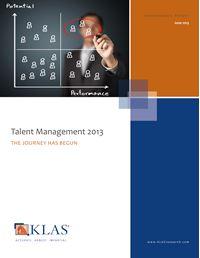 Talent Management 2013