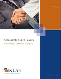 Accountable Care Payers 2013