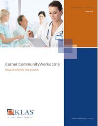 Cerner CommunityWorks 2013