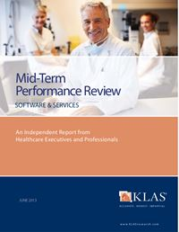 2013 Mid-Term Performance Review - Software and Professional Services