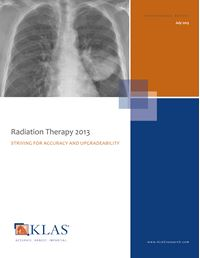 Radiation Therapy 2013