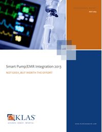 Smart Pump/EMR Integration