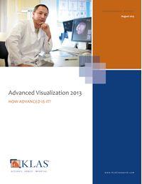 Advanced Visualization 2013