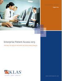 Enterprise Patient Access 2013