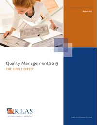 Quality Management 2013