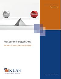 McKesson Paragon 2013
