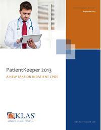 PatientKeeper 2013