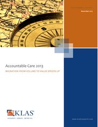 Accountable Care Timing 2013