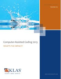 Computer-Assisted Coding 2013