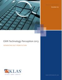EMR Technology Perception 2013