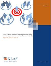 Population Health Management 2013