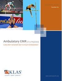Ambulatory EMR (11-75 Physicians)