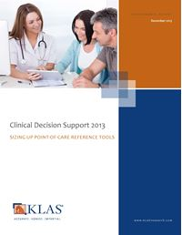 Clinical Decision Support 2013