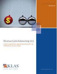 Revenue Cycle Outsourcing 2013