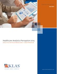 Healthcare Analytics Perception 2014